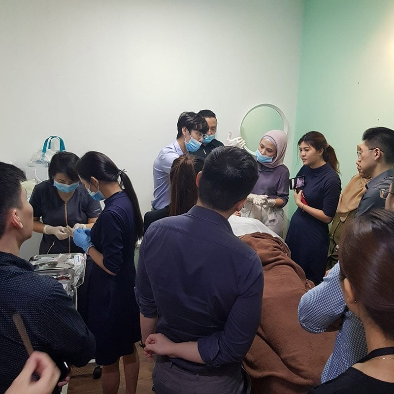 Double Fix Threadlifts training by Dr Chua