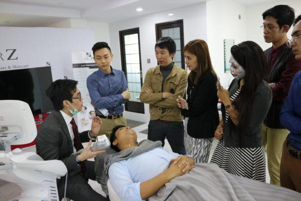 Dr CY Chua Training in Yangon
