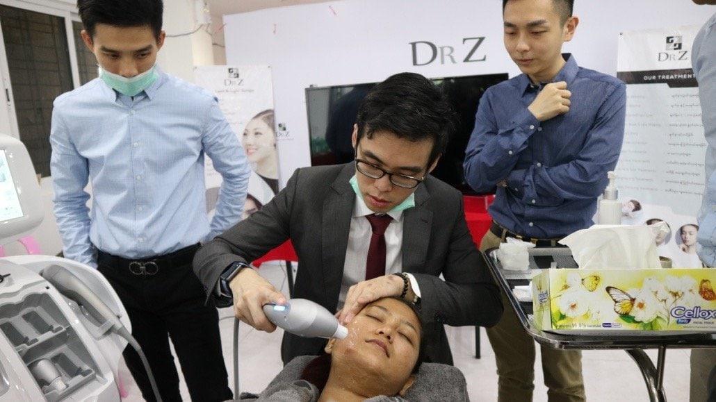 dr cy chua hifu treatment